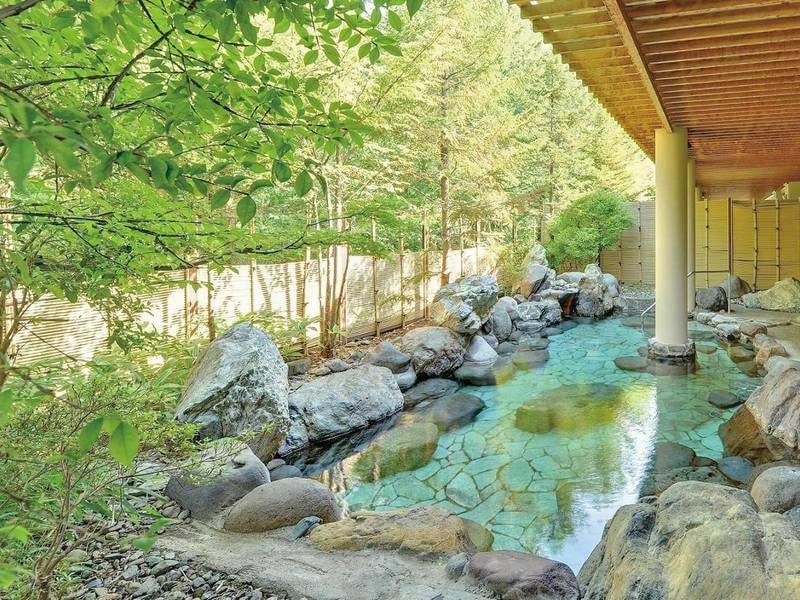 【長生の湯】豊富な湯量と優れた泉質で江戸時代には南部藩の湯治場として賑わいをみせました。