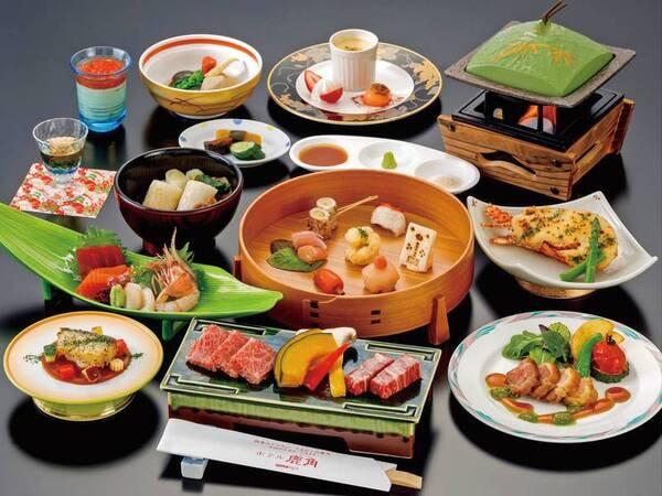 【かづの恋姫プラン/一例】料理長一押しの渾身の逸品メニューを揃えました。お試しください。