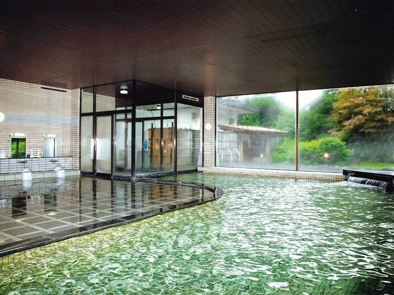 【大浴場】内湯も広々