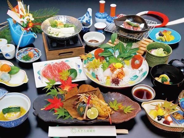 【贅沢和食膳/例】秋田の地と季節が味わえる贅沢なプラン