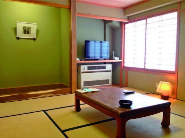 【客室/例】8畳以上の和室へご案内