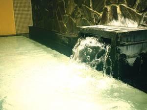 【大浴場】さらりとした肌ざわりの温泉を堪能