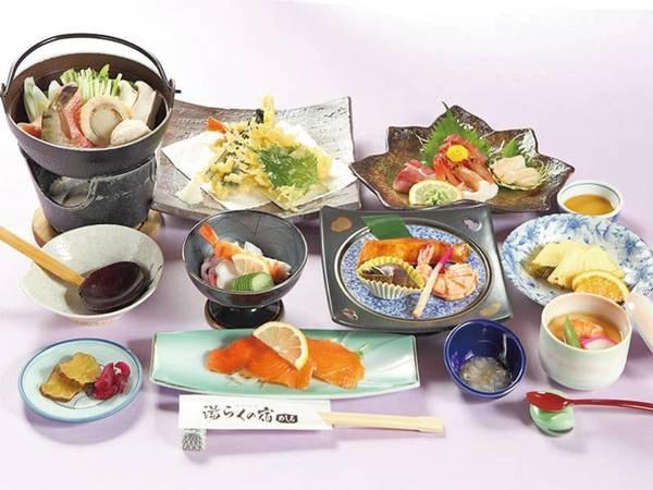 【はまなす会席/例】約9品のお膳料理!