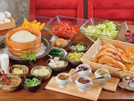 【朝食バイキング/例】新鮮な食材を堪能