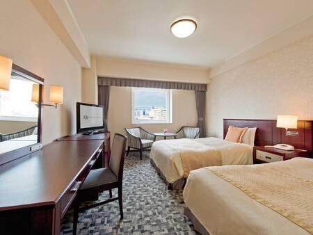 【22㎡洋室/一例】ベッド幅は120センチで添い寝も可能