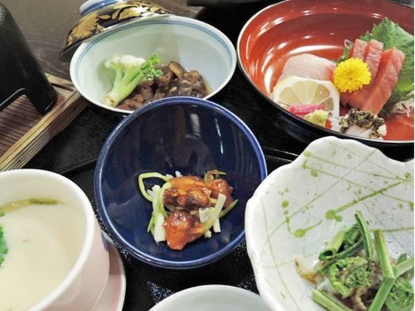 【旬の和会席・さくら膳/例】約10品のお手軽な和食膳