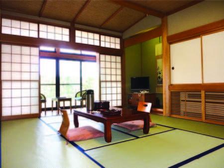 【客室/例】10畳の和室は洗浄機能トイレ付