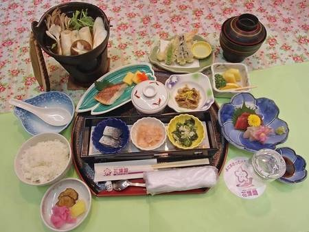 【きりたんぽ鍋膳/例】秋田名物のきりたんぽを堪能