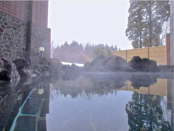 【露天風呂】四季を感じる露天風呂でゆったり