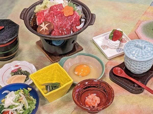 秋田牛すき焼き御膳/例