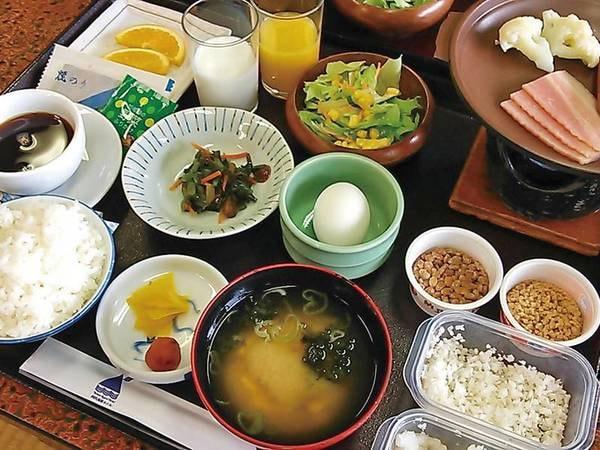 【朝食/例】和定食で朝のエネルギーをチャージ