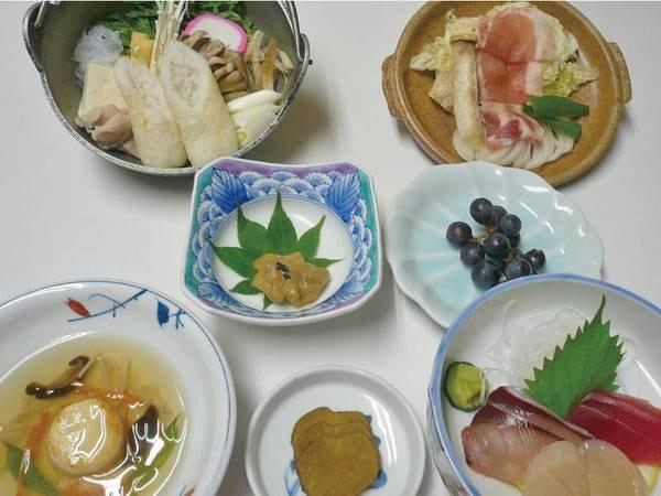 【女将手作り田舎料理プラン/例】女将が作る地元の食材を使った温まる料理