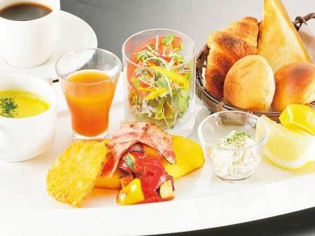 【洋食/例】朝食は和定食・洋食・おかゆ膳から選択できる!