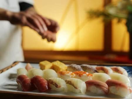 お寿司食べ放題付!和会席/一例