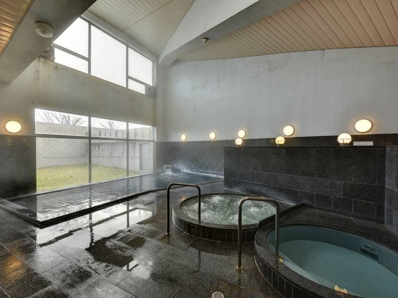 *温泉大浴場:ジャグジー/水風呂