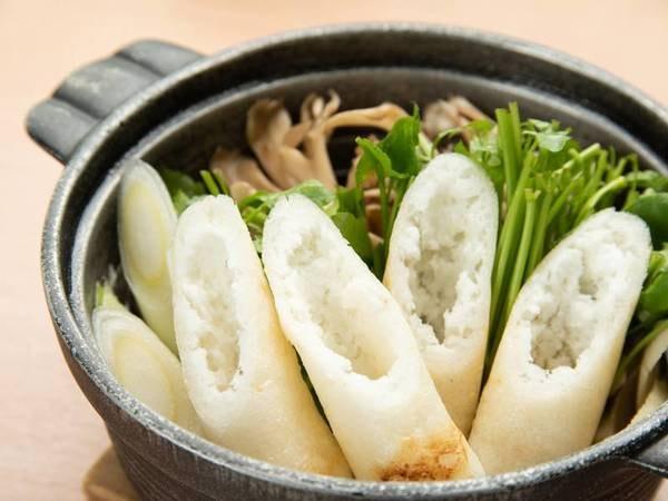 *夕食:秋田名物きりたんぽ