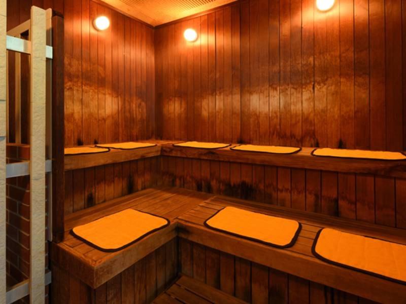 展望大浴場「飛天の湯」 サウナ