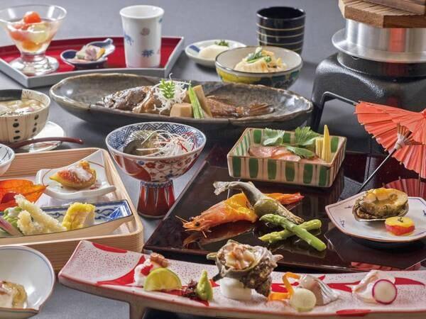【彩り会席/例】瀬戸内の海の幸、香川の農産物をふんだんに使用した美食会席