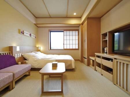 【和ダブル20平㎡(和ベッド・シャワー付)】使い勝手の良い比較的コンパクトなお部屋タイプ