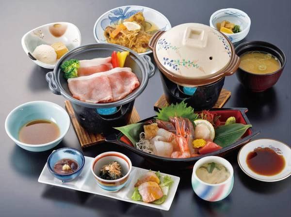 【舟盛会席/例】新鮮な魚介と手作りの料理が自慢