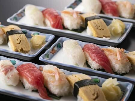 【お料理一例】新鮮で豊富なネタをご賞味ください。※イメージ
