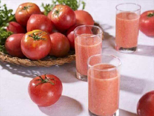 【ご朝食一例】1日の元気をチャージ!朝食トマトジュース