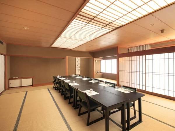 【ご宴会場】お食事会場となるほか、会議室にも姿を変える大小21の会場を備えております。