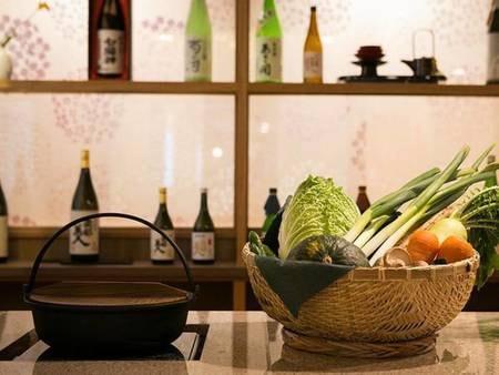 【うららダイニング】旬の食材を、料理長が腕によりをかけて仕上げる別邸うららの特別料理。個室でゆっくりとお楽しみください。