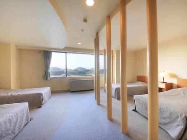 【本館 4ベッドルーム/例】ファミリー・グループ様に人気!/禁煙タイプのお部屋となります/全室Wi−Fi完備!