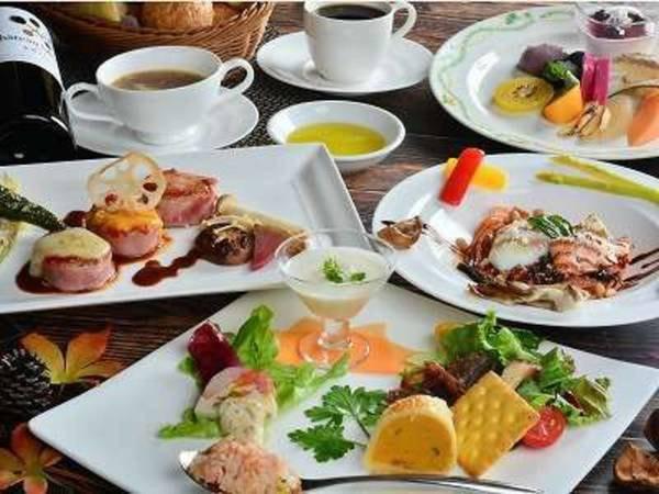 【イタリアンフルコース/一例】お箸でお楽しみ頂けるコース料理をご用意しております