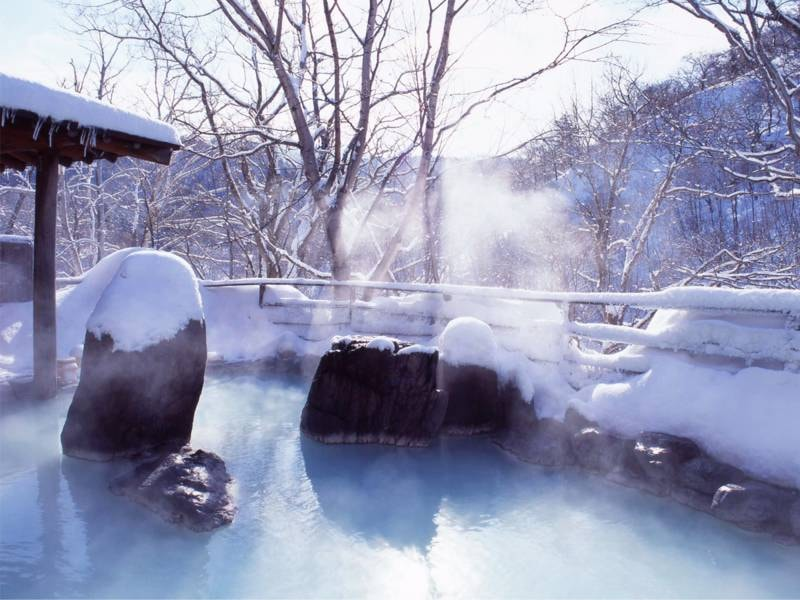 【露天風呂・混浴】冬