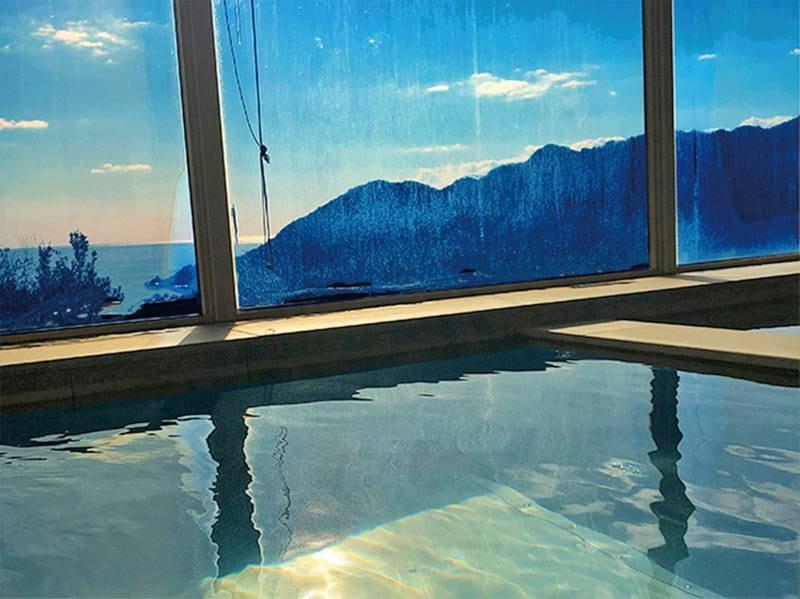 【温泉】オーシャンビューの大浴場