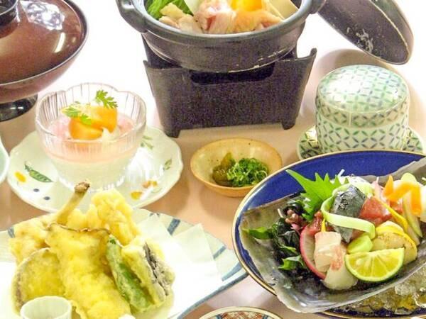 夕食「竹コース」/一例