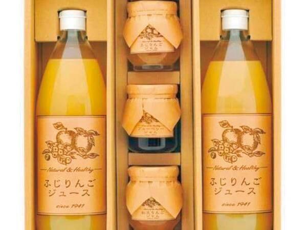 特典(信州の松井農園おすすめのジュースとジャム詰め合わせ特典)/例