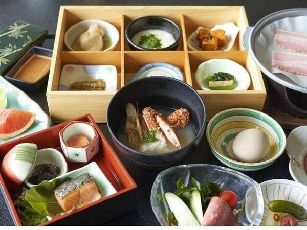 朝食(和食セットメニュー)/一例