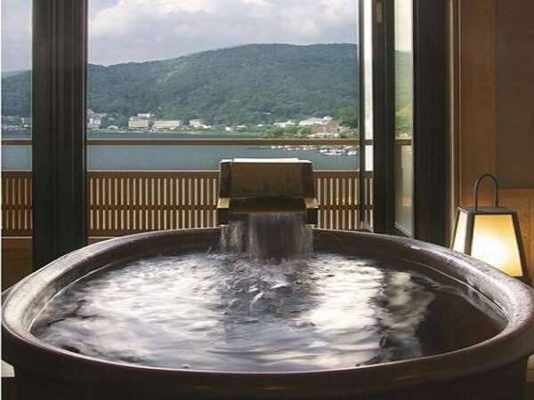 客室風呂信楽焼/一例