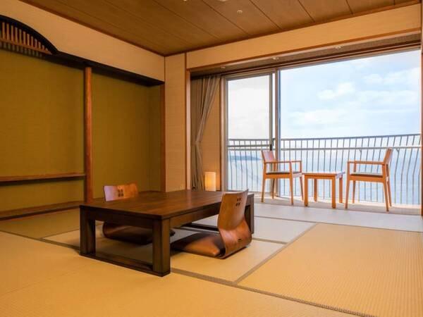 【夕陽側】和室8畳(禁煙、トイレ付)