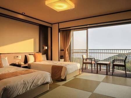 朝日側/和室ベッドルーム/禁煙/トイレ