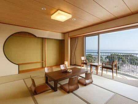 【朝日側】和室10畳(禁煙、トイレ付)