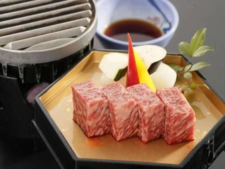 前沢牛の網焼き他/一例