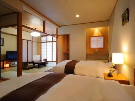 檜の内風呂付本館和洋室/一例