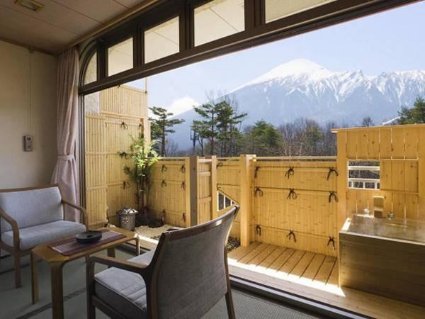 岩手山展望露天風呂付き和室10畳間/一例