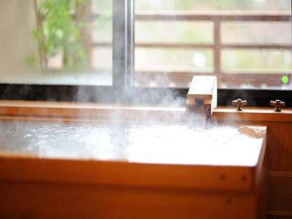 姫神「七時雨の間」客室風呂(一例)