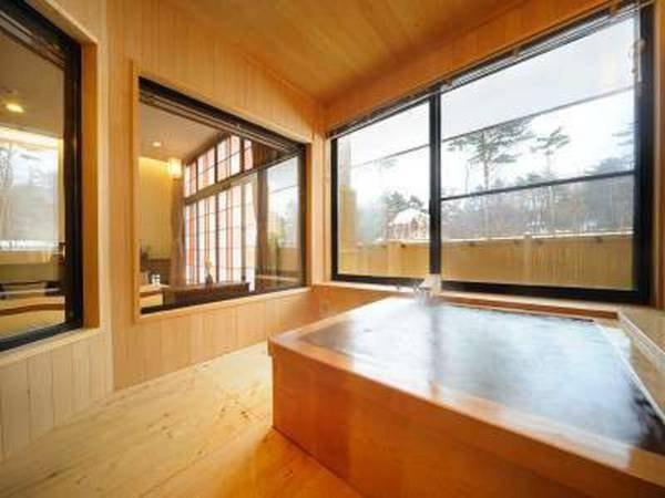 姫神「見返の間」客室風呂/一例