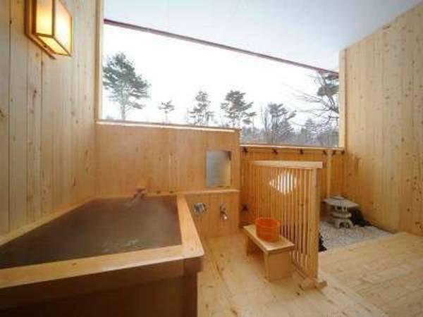 姫神「源太の間」客室風呂(一例)