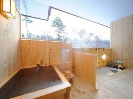 姫神「黒倉の間」客室風呂(一例)