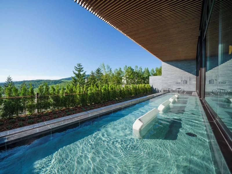 ノースウイング女性大浴場(ことぶきの湯)温泉露天風呂