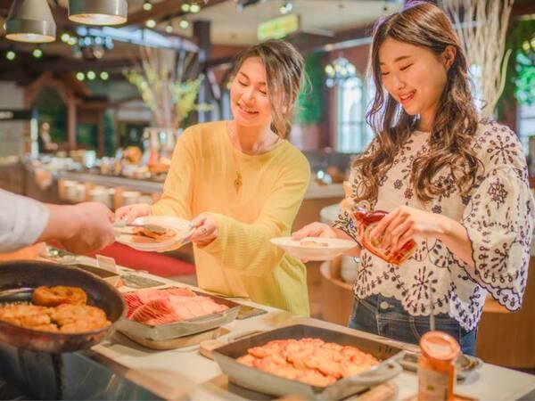 【朝食ブッフェ】シェフが焼き上げるふわふわフレンチトースト(オクトーバーフェストイメージ)