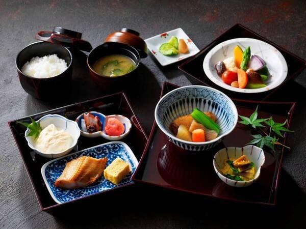 【朝食イメージ】郷土料理「雪花亭」和定食例 ※日程限定での営業