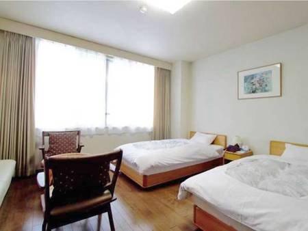 【客室/洋室一例】お部屋は和室または洋室より宿お任せでご案内